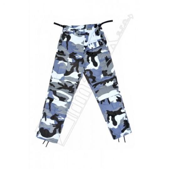 kalhoty kapsáče modré