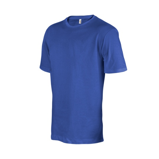 triko pánské modré krátký rukáv nadrozměr
