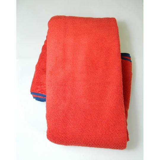 ručník Terry 75x150 červený Pinguin
