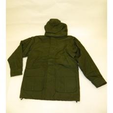 bunda pánská zimní zelená