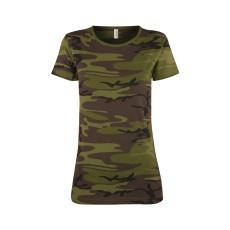 triko dámské Military krátký rukáv