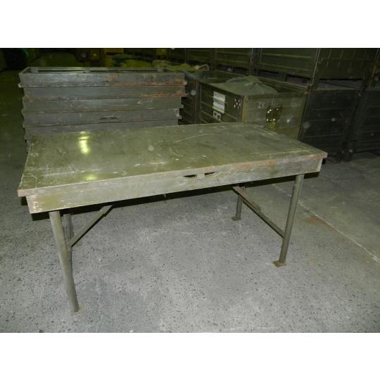 stůl pracovní kovový rozkládací 160x80x86