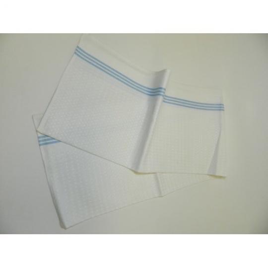 ručník modrý pruh