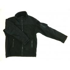 bunda Combat fleece černá