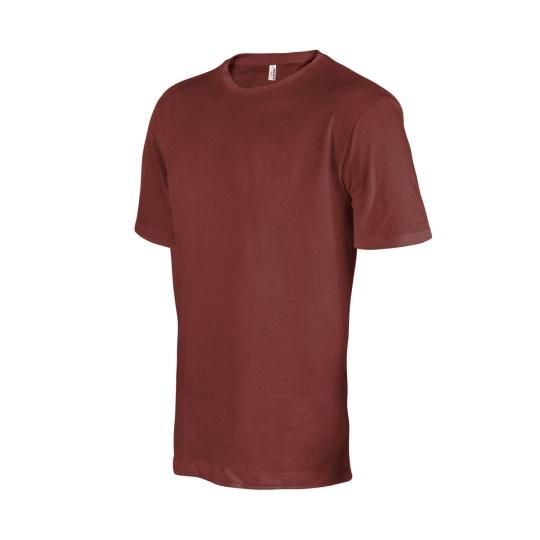 triko pánské hnědé krátký rukáv