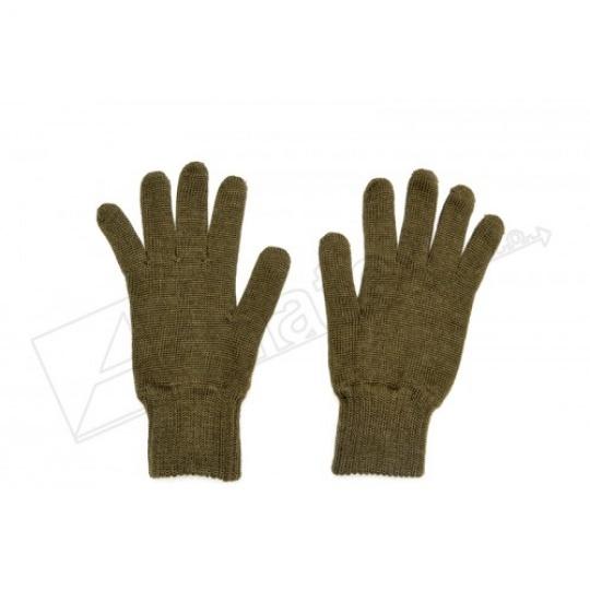 rukavice pletené prstové AČR