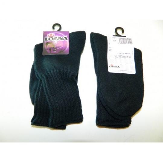 ponožky dětské černé vel. 20-22