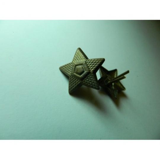 odznak hvězda malá mořená