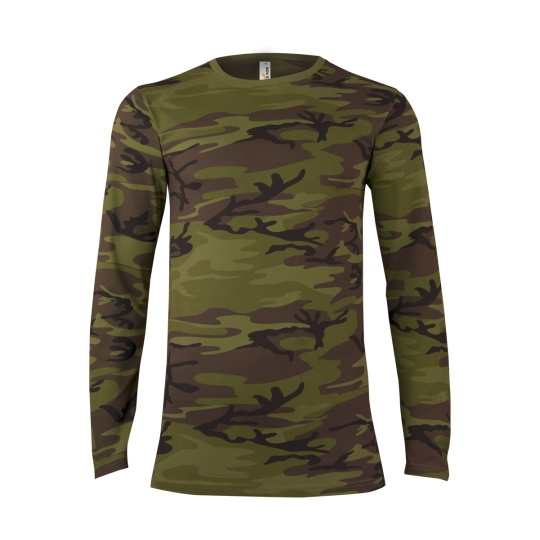 triko pánské LS Military dlouhý rukáv