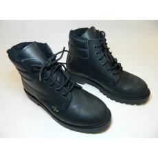 boty černé zimní KRÁL