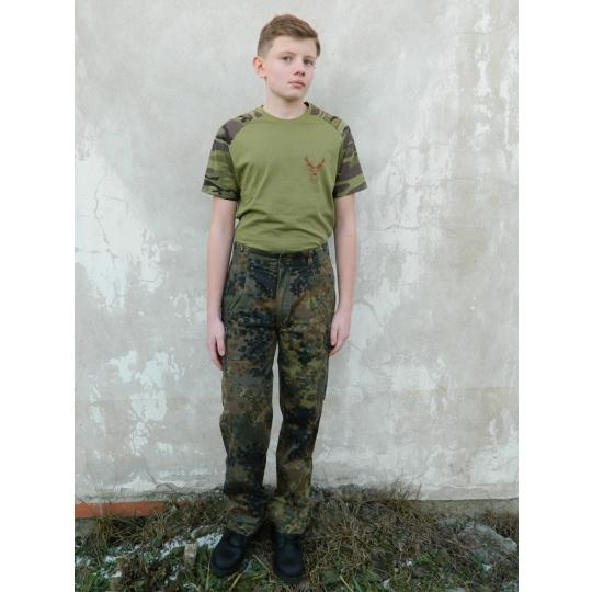 kalhoty Bundeswehr pas 81-90cm II.jakost