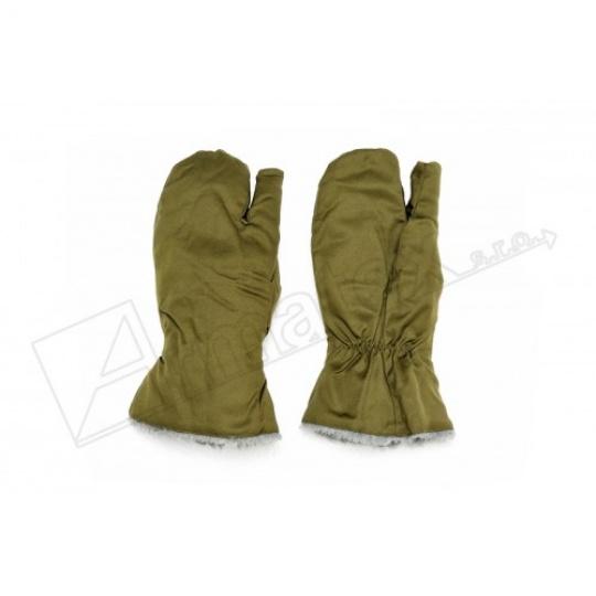 rukavice vz.85 tříprsté zimní