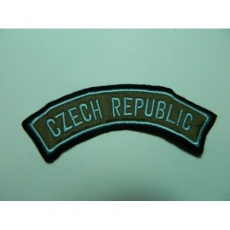 nášivka Czech Republic