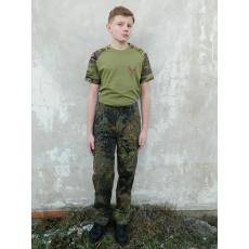 kalhoty Bundeswehr pas 81-90cm I.jakost