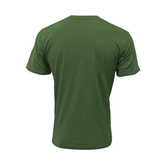 triko pánské zelené krátký rukáv nadrozměr