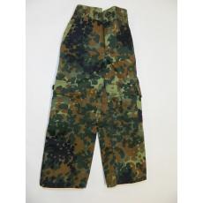 kalhoty dětské flecktarn vel. 158/164