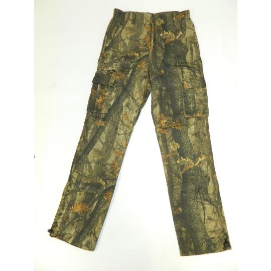 kalhoty zimní potisk list