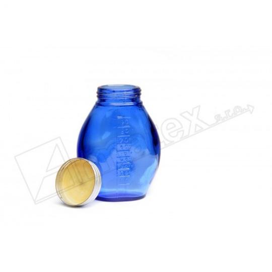 láhev 1000ml sklo s měrkou