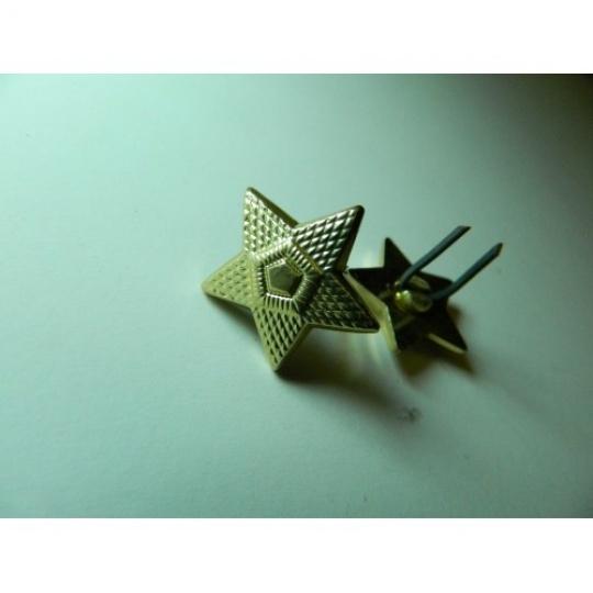 odznak hvězda zlatá