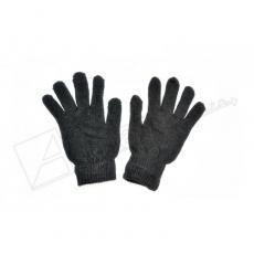 rukavice pletené černé