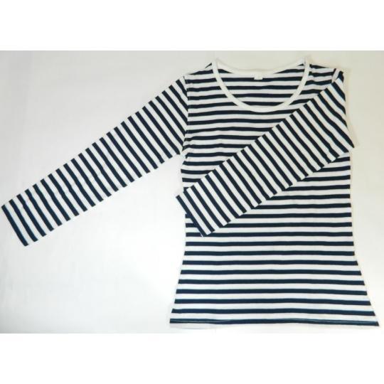 triko dámské námořník dlouhý rukáv