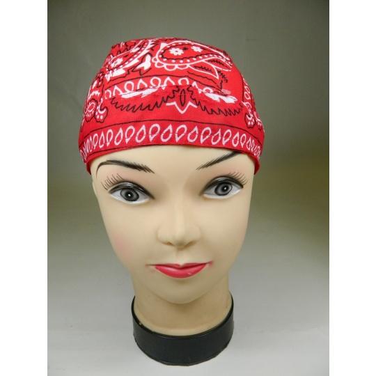 šátek vázací červený