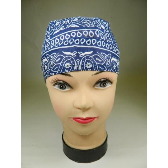 šátek vázací modrý
