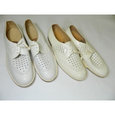 boty lékař bílé RETRO