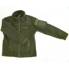 bunda Combat fleece zelená