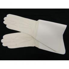 rukavice regulovčík bílé