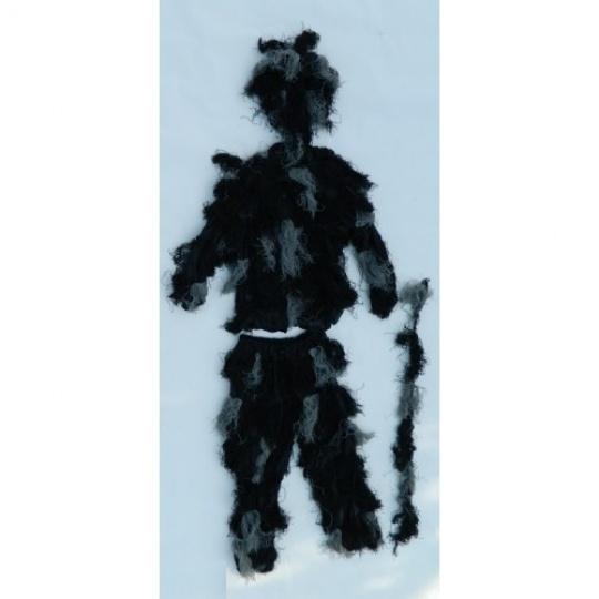 hejkal maskovací oblek černý vel. XL/2XL