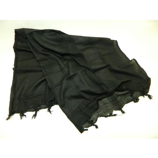 šátek palestina černá PETREQ 110x110